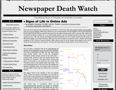 newsp dead watch