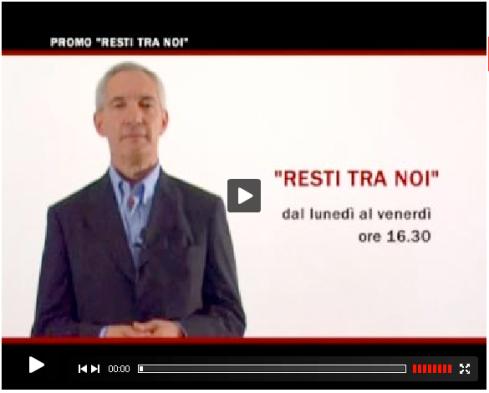 """fatta da Stefano Balassone a Andreas Formiconi nel programma """"RESTI TRA NOI"""" su RED tv (canale 890 di Sky)"""
