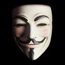 Immagine logo del gruppo di attivisti Anonymous