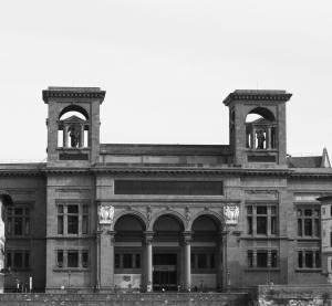 Fotografia della Biblioteca Centrale Nazionale a Firenze