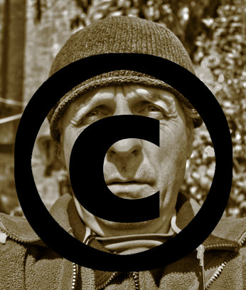 Fisionomia del sottoscritto quando pensa al copyright: molto afflitto ...