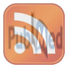 Simbolo RSS fuso con logo PubMed