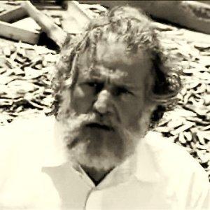 Primo piano di Ernesto, l'anziano protagonista del film Terraferma, di Emanuele Crialese