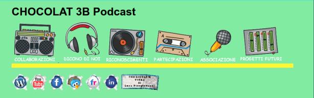 testata del sito chocolat 3b podcast di luca piergiovanni