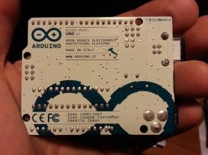 il microcontrollore arduino - retro