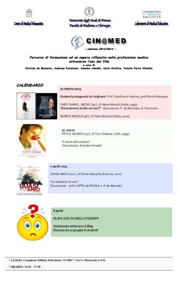 cin@med edizione 2013-14