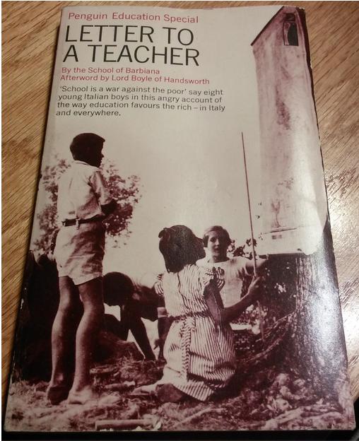 """Felice per avere ritrovato """"Letter to a Teacher"""" con postfazione di Lord Edward Boyle ofHandsworth"""