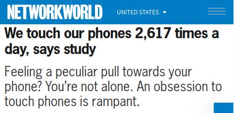Non posso toccare lo stesso oggetto 2600 volte algiorno